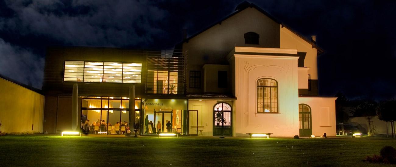 Konzerthaus Bühne Weinviertel Aussen
